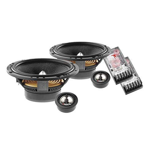 Focal Audio Speakers (Focal 165A1SG 2-Way 6.5-inch Component Speaker Pair)