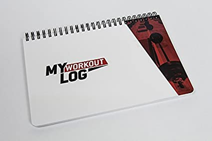 amazon com my workout log clean simple durable fitness planner