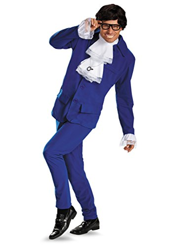 Deluxe Mens Austin Powers Plus Size Costume - Xxl