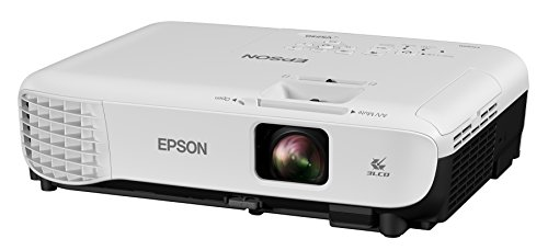 Epson VS250 SVGA 3,200 lumens color brightness (color light output) 3,200 lumens white brightness (white light output) HDMI 3LCD projector from Epson