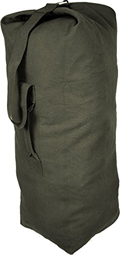 094e268962c3 Image Unavailable. Image not available for. Color  Olive Drab Jumbo Top  Load Canvas Duffle Bag ...