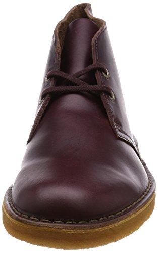 Clarks OriginalsDesert Boot - Sandalias con cuña hombre Vino