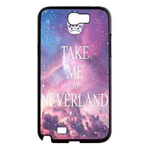 Chinese Take me to neverland Custom Phone Case for Samsung Galaxy Note 2 N7100,personalized Chinese Take me to neverland Case