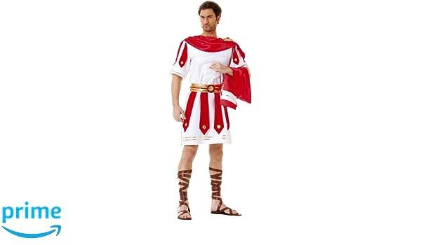 Cesar B352-003 - Disfraz de romano para hombre, talla 50-52 ...