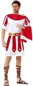 Cesar B352-003 - Disfraz de romano para hombre, talla 48-50