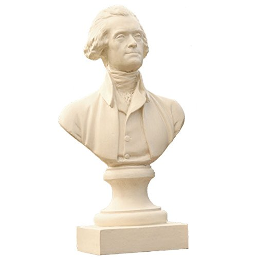 Monticello Thomas Jefferson Bust by Houdon - 12