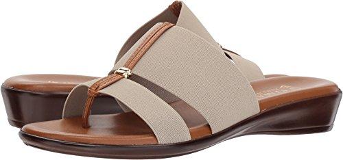 a485abbb88a6a ITALIAN Shoemakers Women s Milla Slide Sandal Stone 8.5 ...