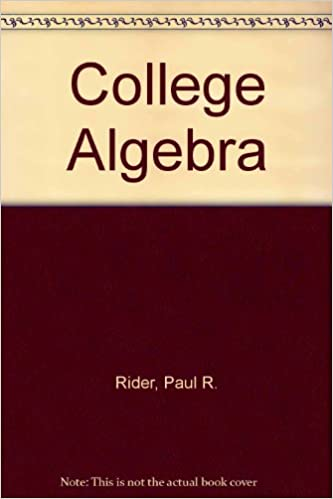 Algebra Ebooks Texts Space