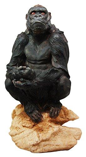 King Of The Primates Jungle Gorilla Ape Decorative Figurine 13