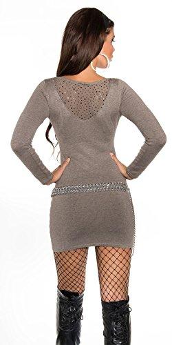 In-Stylefashion - Vestido - para mujer Capuchino