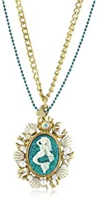 "Betsey Johnson ""Sea Excursion"" Mermaid Pendant Necklace"