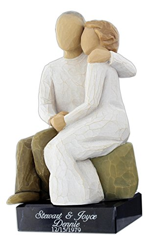 DEMDACO Willow Tree Figurine - Anniversary (Personalized)