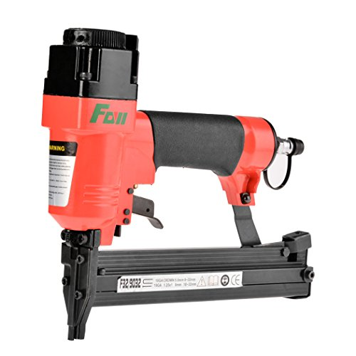 Wakrays Double Spring Carpenter Clipped Head Air Nail Gun Nailer Straight&U-shape Nails by Wakrays