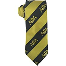 Alpha Phi Alpha G2310 Neck Tie Fraternity Divine Nine Greek