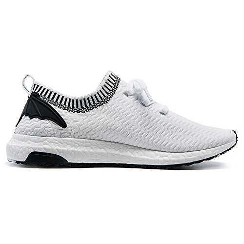 Mesh Breathable Fashion Sneakers ONEMIX Casual Black Shoes White Athletic Women's wHXqIY