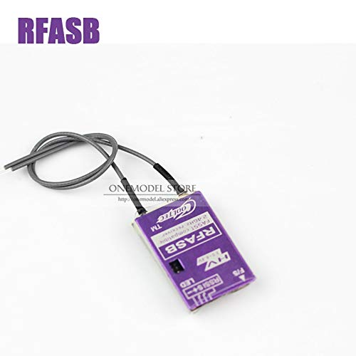 Kamas Original RFASBz Receiver with Metal Shell FASST 2.4GHz Compatible with FUTABA FASST SBUS FPV Racing Receiver - (Color: RFASB)