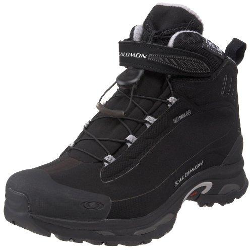 Salomon Men's Deemax 2 Dry Winter Boot,Black /Aluminum,8 M US
