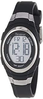 Armitron Sport Unisex 45/7034BLK Stainless Steel Accented Black Resin Strap Chronograph Digital Watch (B00CZ55IRS) | Amazon Products