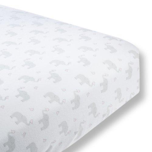 SwaddleDesigns Premium Flannel Elephant Chickies