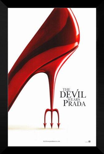 a FRAMED 27x40 Movie Poster (The Devil Wears Prada Movie Poster)