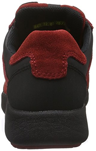 72 black Camel Rouge wine Basses Femme 01 Active Jump Baskets OZFwZxE1q
