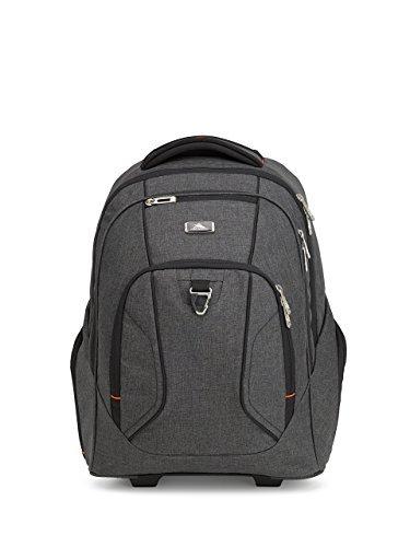 High Sierra Endeavor Business Wheeled Backpack, Mercury Heather [並行輸入品] B07DVRY4HG