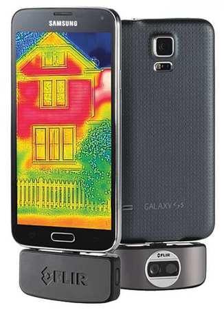 Flir Infrared Camera, Uses Android Display