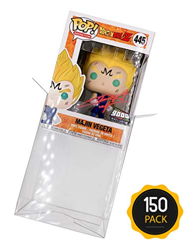 Amazing Quality Pop Protector Cases for 4-inch Funko Pop Vinyl Figures (150 Pack of Cases) ()