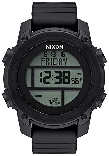 Nixon Men's A962001-00 Unit Dive Digital Display Japanese Automatic Black Watch (Nixon Mens Dive Watch)