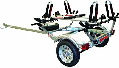 Malone Auto Racks MicroSport Trailer Package with Two Kayak and Two Bike Transport