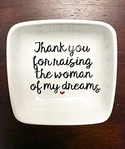 Mother of the Bride gift, Jewelry dish