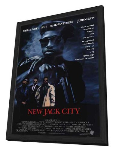 New Jack City - 11 x 17 Framed Movie Poster