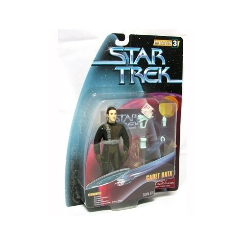 Star Trek The Next Generation: Warp Factor Series 3 Cadet Data 4 inch Action Figure