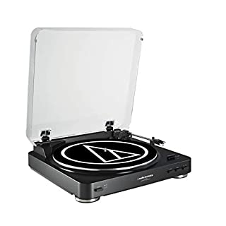 Audio-Technica AT-LP60BK Fully Automatic Belt Driven Turntable - Black (B008872SIO)   Amazon price tracker / tracking, Amazon price history charts, Amazon price watches, Amazon price drop alerts