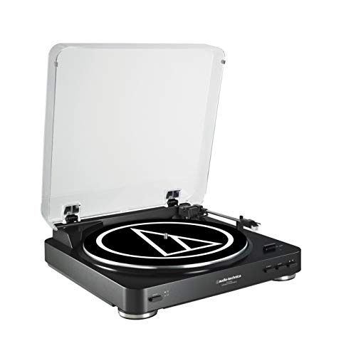 (Audio-Technica ATLP60 Fully Automatic Stereo Belt Drive Turntable - (Black))