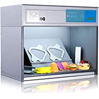 Huanyu Color Assessment Cabinet Color Controller Light Box Textile Printing Color Matching Cabinet 4 Light Sources: D65 TL84 UV F (110V)
