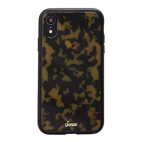Sonix Brown Tort Case for iPhone XR [Military Drop Test Certified] Protective Tortoiseshell Leopard Case for Apple iPhone XR