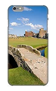 MPDQpn-3308-vVHtL Awesome Swilcan Bridge On The 18th Hole At St Andrews Old Golf Course Scotland Flip Case With Fashion Design For iphone 6 plus As New Year's Day's Gift