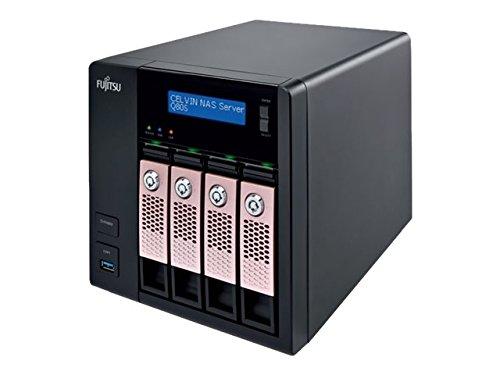 Fujitsu CELVIN NAS Q805 Ethernet Torre Negro - Unidad Raid (Unidad de Disco Duro, SSD, SATA, Serial ATA II, Serial ATA III, 2.5/3.5