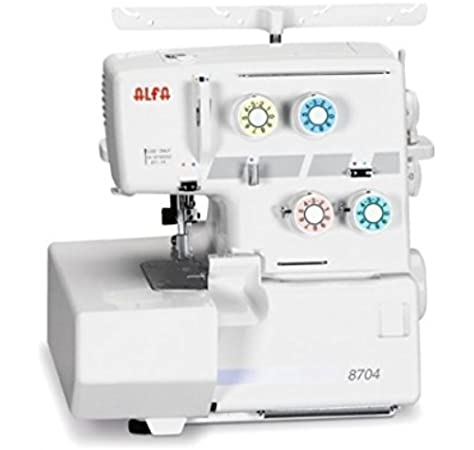 Alfa Profesional 8704 Overlock Máquina remalladora: Amazon.es: Hogar