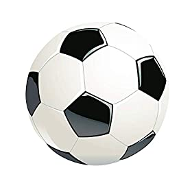 Classical Size 3 Soccer Ball Football with Thicker Environmental PU Anti-Explosion Tight Weaved Suitable for 0-9 Years Old Presents and Gift Suitable for School Training Practice