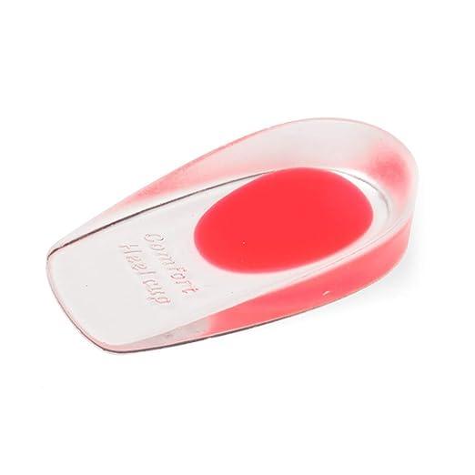 Amazon.com: YaptheS - Almohadilla de silicona para talón y ...
