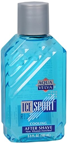 Aqua Velva Ice Sport Cooling After Shave 3.50 Ounce (Value Pack of 3)