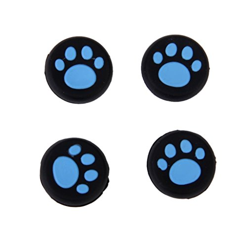 PS3 PS4 XBOX ONE 360コントローラ交換用アナログスティック 猫手 肉球 アクセサリーキット 3色使用可能 4個