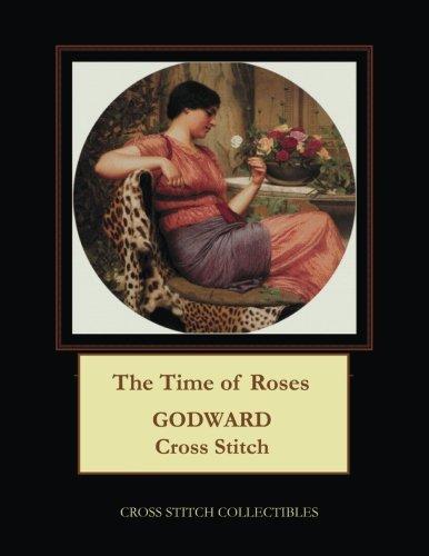 The Time of Roses: J.W. Godward Cross Stitch Pattern