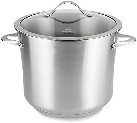 Amazon.com: Calphalon - Batería de cocina contemporánea de ...
