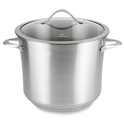 Calphalon Contemporary Stockpot - 12 quart Stockpot, Lid - G