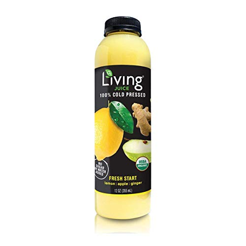 O2 Living Juice Pineapple Punch Organic Cold-Pressed, No Sugar or Water Added, Made with Pineapple, Kale, and Apple, Loaded with Nutrients, Vitamins, Enzymes, and Minerals (18-Pack)