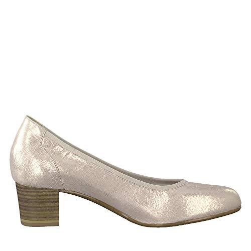 Tacón 952 Zapatos 952 1 Mujer Rosa 22 De 22301 Para rose 1 Metallic Tamaris x0UOTx