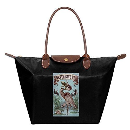 never-give-up-shoulder-handbag-tote-bag